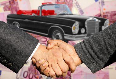 Autohaus und Autohandel