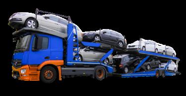 Autotransporte und Überführung